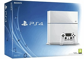 White PlayStation 4 500GB ConsolePlayStation 4