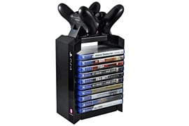 PlayStation 4 Games Tower & Charger for PlayStation 4