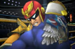 Captain Falcon - amiibo - Super Smash Bros Collection screen shot 1