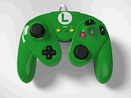 Super Smash Bros Luigi Gamecube Controller For Wii UAccessories
