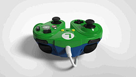 Super Smash Bros Luigi Gamecube Controller For Wii U screen shot 4