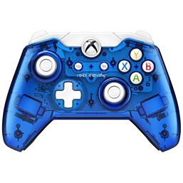 Rock Candy Xbox One Wired Controller - Blueberry BloomAccessories