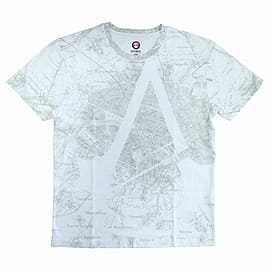 Assassin's Creed Unity Map T-Shirt (Small)Clothing and Merchandise