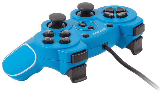 Buy VX2 Wired PS3 Controller - Blue | Free UK Delivery | GAME