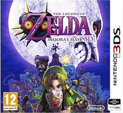 The Legend of Zelda: Majora's Mask 3D 2DS/3DS Cover Art