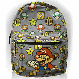 Super Mario Bros Reversible 1Up BackpackGifts
