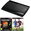 PlayStation 3 12GB Console with Minecraft & FIFA 15 PlayStation-3