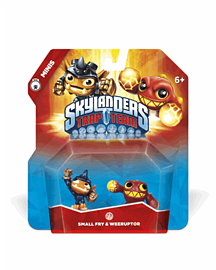 Skylanders Trap Team Minis Double Pack - Small Fry and WeeruptorToys and Gadgets