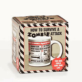 How To Survive A Zombie Attack MugAccessories