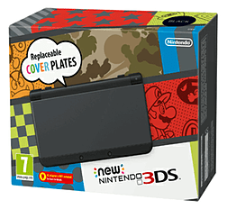 The New Nintendo 3DS - Black Nintendo 3DS