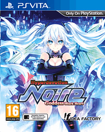 Hyperdevotion Noire: Goddess Black HeartPS VitaCover Art