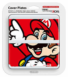 New 3DS Cover Plate - Mario Accessories