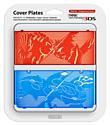 New 3DS Cover Plate - Pokémon Omega Ruby / Pokémon Alpha Sapphire Accessories
