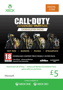 Call Of Duty Advanced Warfare: Exoskeleton Pack for XBOX