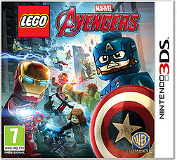 LEGO Marvel Avengers2DS/3DSCover Art