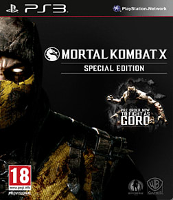Mortal Kombat X: Special Edition including Goro DLC - Only at GAME PlayStation 3