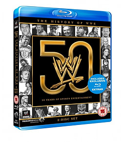 HISTORY OF WWE - 50 YEARS OF SPORTS ENTERTAINMENT BDBlu-ray