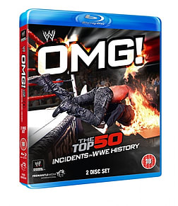 OMG - THE TOP 50 INCIDENTS IN WWE BDBlu-ray