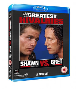 GREATEST RIVALRIES: SHAWN MICHAELS vs. BRET HART BLU-RAYBlu-ray