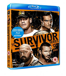 SURVIVOR SERIES 2013 BLU-RAYBlu-ray