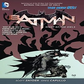 Batman: The Night of the Owls (The New 52)Books