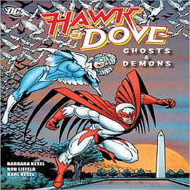 Hawk and Dove: Ghosts and DemonsBooks
