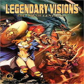 Legendary Visions: The Art of GenzomanBooks