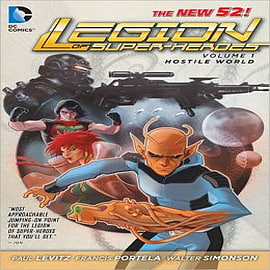 Legion of Super Heroes: Volume 1: Hostile WorldBooks