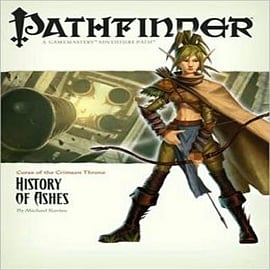 Pathfinder #10 Curse of the Crimson Throne: A History Of AshesBooks