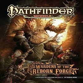 Pathfinder Module: Wardens of the Reborn ForgeBooks