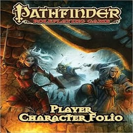 Pathfinder Roleplaying Game Player Character FolioBooks