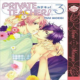 Private Teacher: Volume 3: (Yaoi Manga)Books