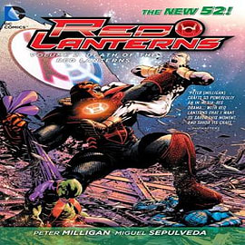 Red Lanterns: Volume 2: The Death of the Red Lanterns (The New 52)Books