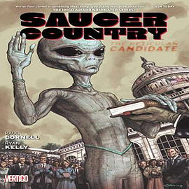 Saucer Country Volume 2: The Reticulan Candidate TPBooks