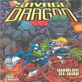 Savage Dragon: v. 9: Worlds at WarBooks