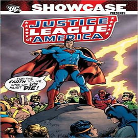 Showcase Presents Justice League of AmericaBooks