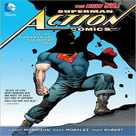 Superman - Action Comics: Vol 01 : Superman and the Men of SteelBooks