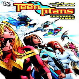 Teen Titans: Changing of the GuardBooks