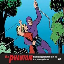 The Phantom the Complete Newspaper Dailies: Volume 6Books