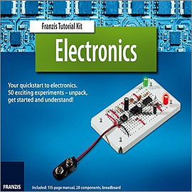 Franzis Electronics Tutorial Kit & ManualBooks