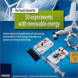 50 Experiments with Renewable Energy Kit & ManualBooks