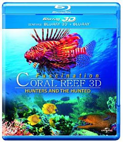 3D Coral Reef: Hunters and the HuntedBlu-ray
