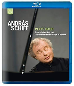 Bach: Andras Schiff French Suites Nos.1Blu-ray