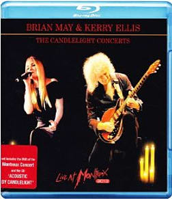 Brian May & Kerry Ellis The Candlelight Concerts Live At Montreux 2013Blu-ray