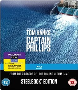 Captain Phillips - Limited Edition SteelbookBlu-ray