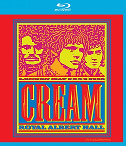 Cream - Royal Albert Hall - 2,3,5,6 May 2005Blu-ray