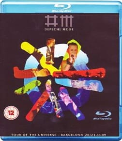 Depeche Mode: Tour Of The Universe - Barcelona 20/21:11:09Blu-ray