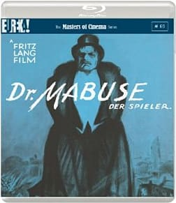 Dr. Mabuse der Spieler. 1922 [Dr. Mabuse the Gambler: Masters of Cinema]Blu-ray