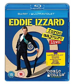 Eddie Izzard: Force Majeure Live 2013Blu-ray