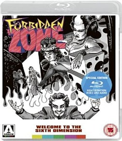 Forbidden ZoneBlu-ray